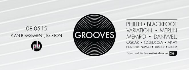 Grooves banner
